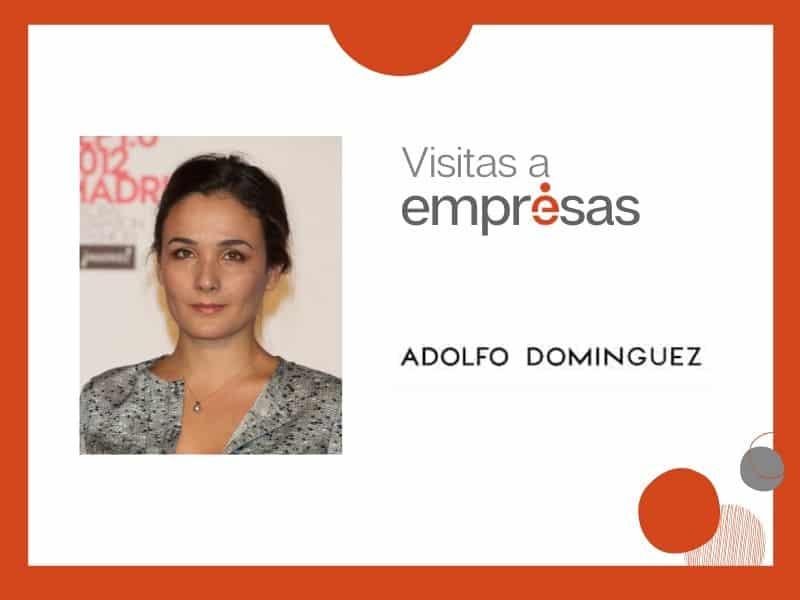 Adriana Domínguez guiará la visita de Executivas a Adolfo Domínguez el 5 de abril