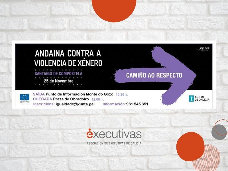 Executivas invita a participar en la VI Andaina Contra a Violencia de Xénero