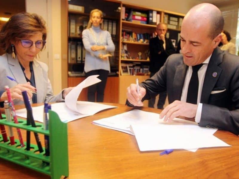 Executivas de Galicia firma un convenio de colaboración con la Fundación Campus Universitario de Lugo