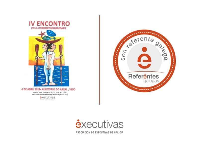 Executivas presenta en la Diputación de Pontevedra el programa Referentes Galegas y el IV Encuentro por la Corresponsabilidad