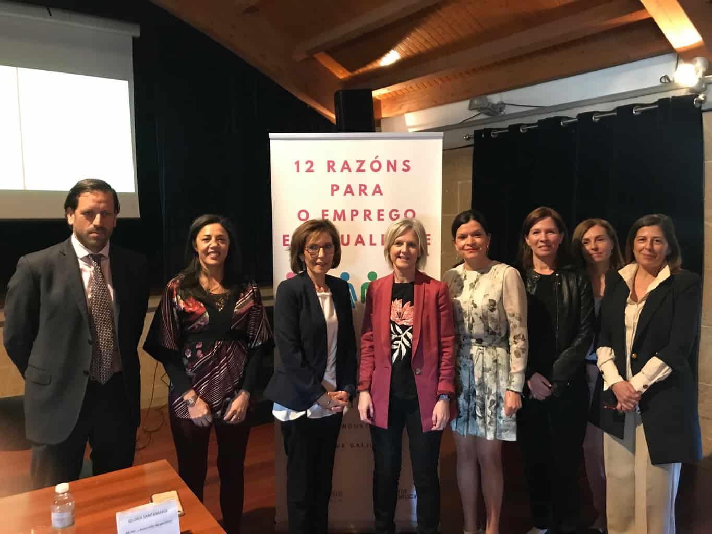 """Executivas y Xunta organizan la jornada """"Emprego en igualdade: eficiencia e competitividade nas organizacións"""""""