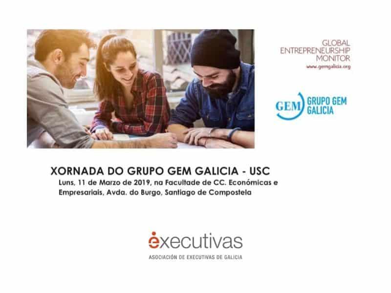 """Executivas de Galicia participa en la jornada del grupo GEM Galicia """"10 anos de emprendemento universitario en Galicia: un enfoque de xénero"""""""