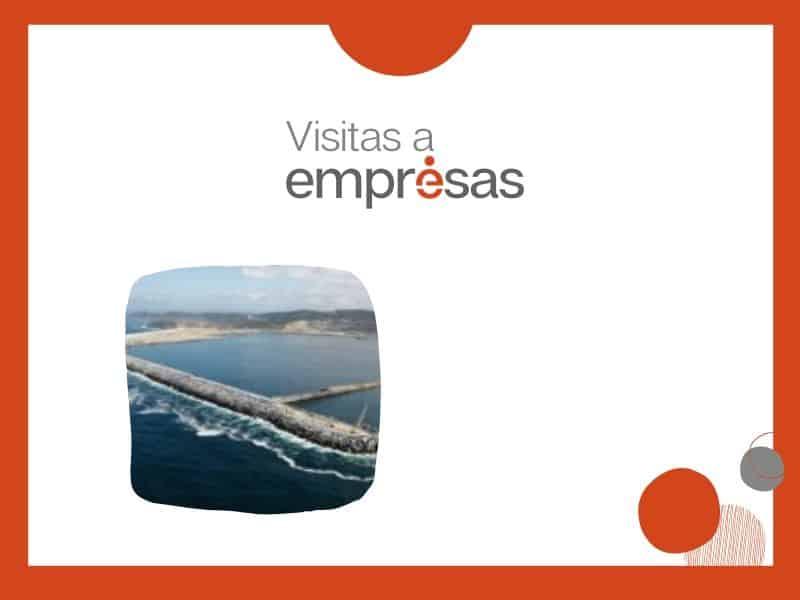 Executivas organiza unha visita ao porto exterior de Coruña o mércores 24 de abril