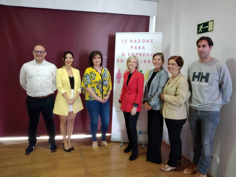 """El programa """"12 Razóns para o emprego en Igualdade"""" realizó en Verín un taller de emprendimiento y empoderamiento"""