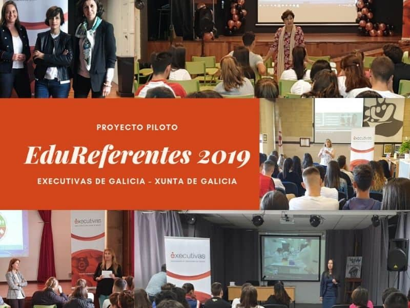 Éxito de participación no proxecto piloto  EduReferentes posto en marcha por  Executivas de Galicia e a Consellería de Educación