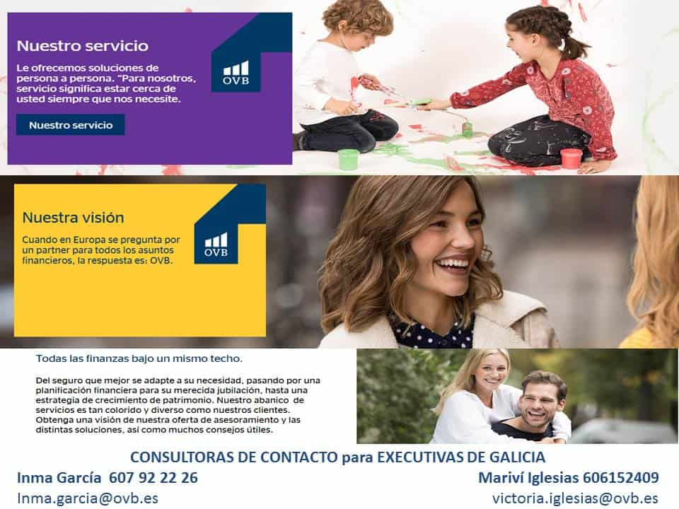 OVB Allfinanz España tiene a disposición de las socias asesoramiento personal gratuito para tener una buena planificación financiera