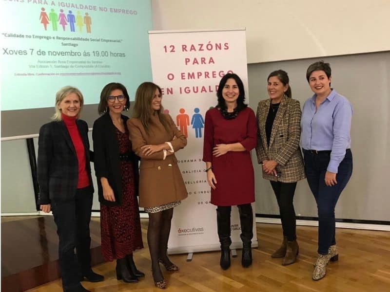 """O programa """"12  Razóns para ou  emprego en  Igualdade"""" realiza en Santiago unha xornada sobre Igualdade e  RSE"""