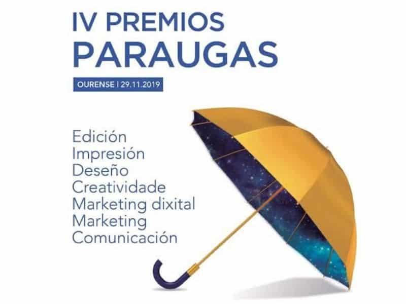 O mércores 6 finaliza o prazo para presentarche aos IV Premios  Paraugas de  Comunciación e Marketing de Galicia