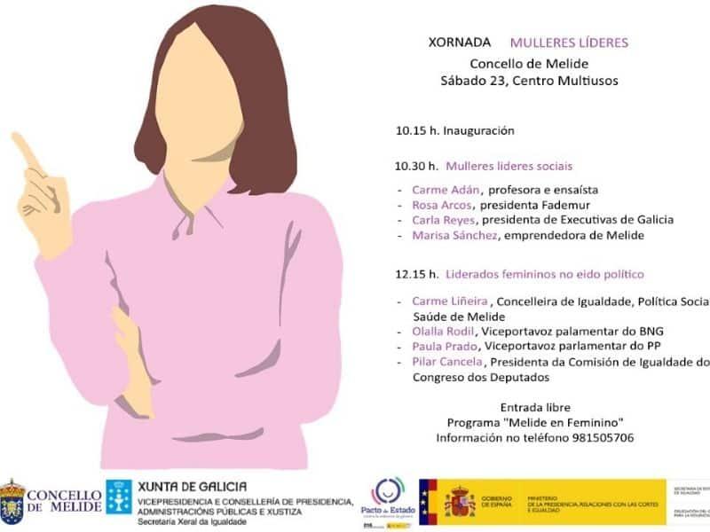 Executivas de Galicia participa en la jornada Mulleres Líderes este sábado en Melide