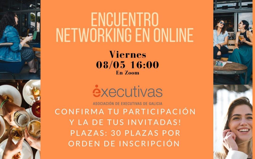 Executivas organiza el viernes 8 el primer encuentro networking online