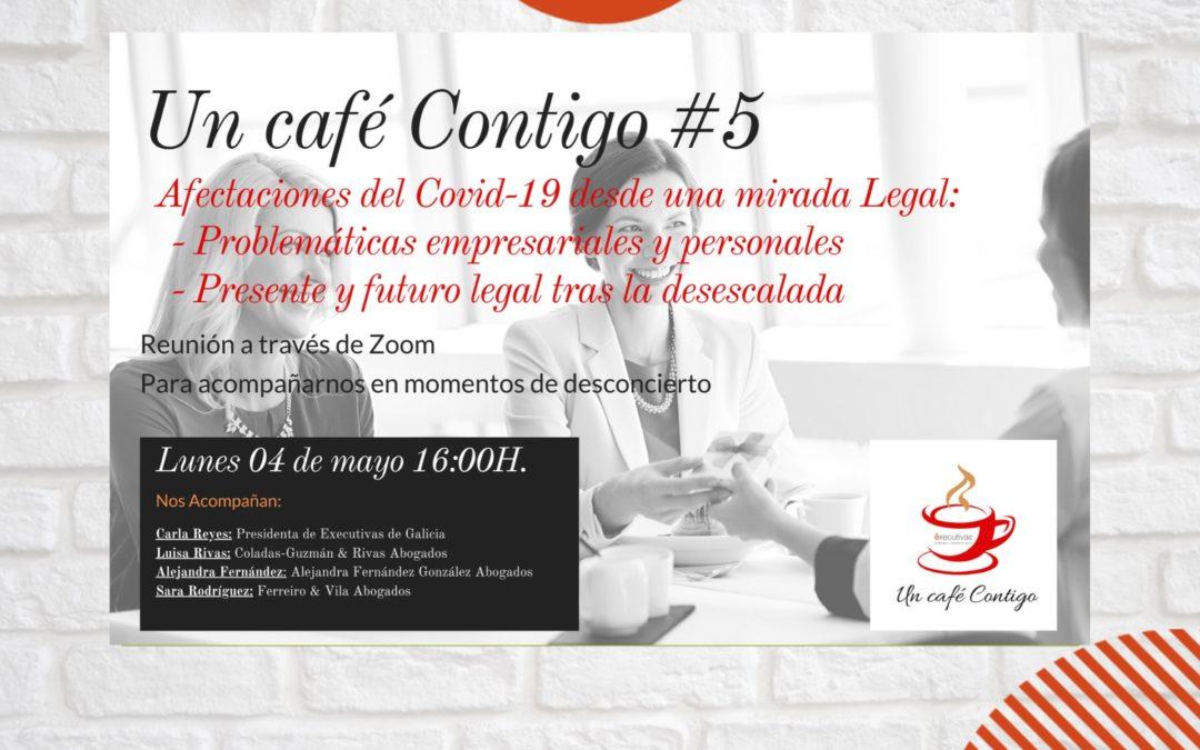 Este lunes 4 en Un café contigo se hablará de la afectación del Covid19 desde un punto de vista legal
