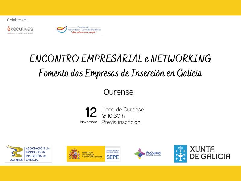 Encontro Empresarial de Executivas de Galicia e AEIGA Ourense