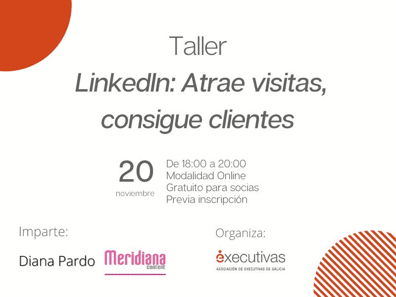 Executivas organiza un taller sobre LinkedIn gratuito para las socias