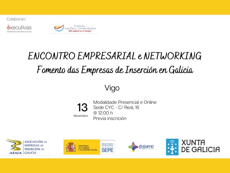 Encontro Empresarial de Executivas de Galicia e AEIGA Vigo