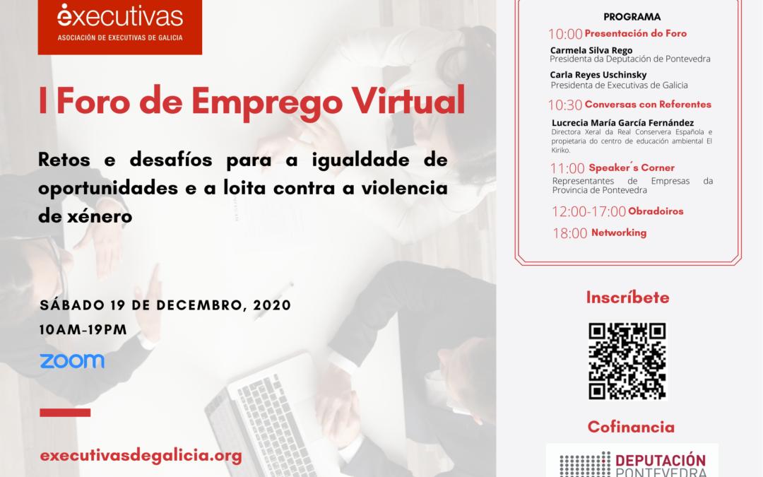 I Foro de Empleo Virtual de Executivas de Galicia