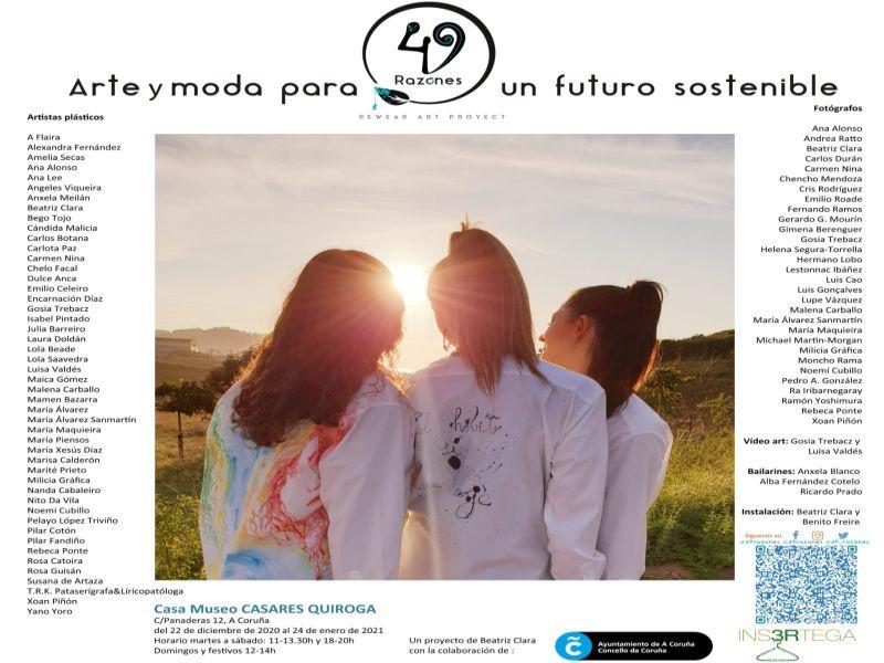 Visita de Executivas de Galicia a Exposición 49 Razones