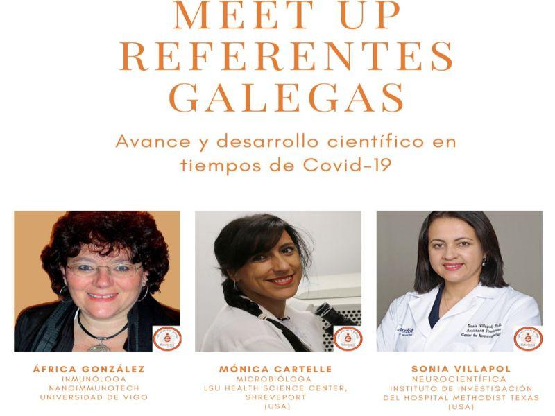 Executivas de Galicia inaugura el programa Meet up Referentes Galegas con la presencia de tres científicas internacionales