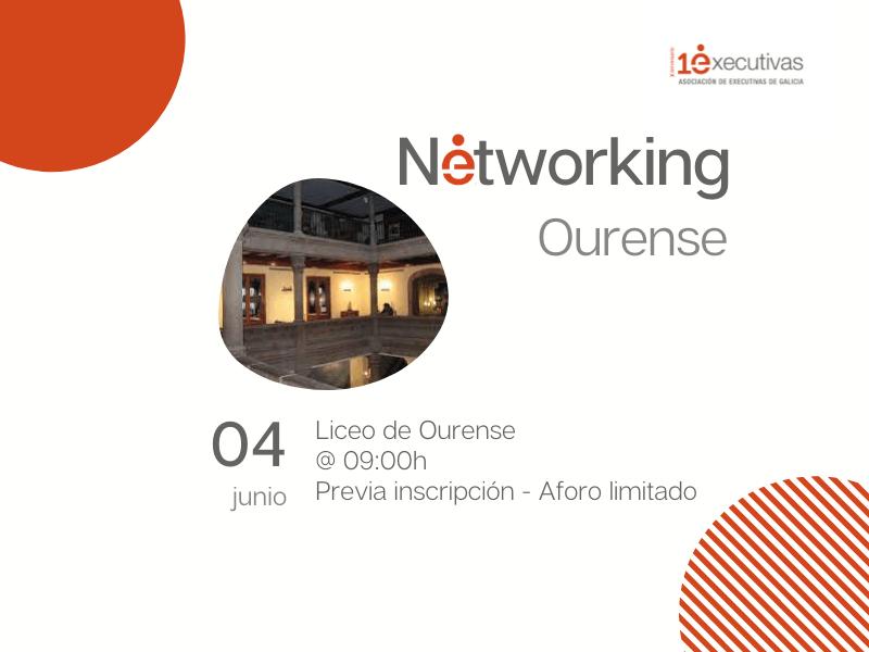Almorzo Networking en Ourense 4 de xuño