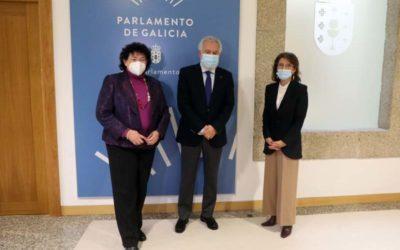 El Parlamento de Galicia, colaborador de los Meet-up Referentes Galegas.