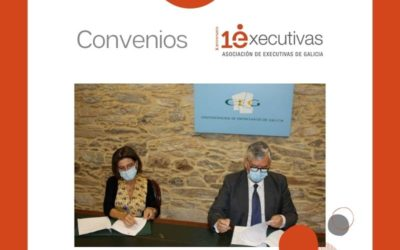 """Executivas firma un convenio con la Confederación de Empresarios de Galicia para impulsar y difundir """"Referentes Galegas"""""""