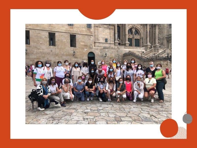 O Camiño de Santiago, punto de encontro de socias e referentes