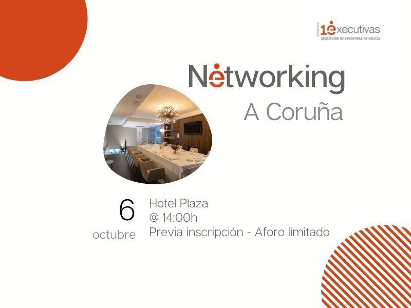 Executivas retoma los networking, A Coruña 6 de octubre