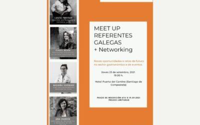 VI Meet-up Referentes Galegas: Retos de futuro no sector hostalería e de eventos