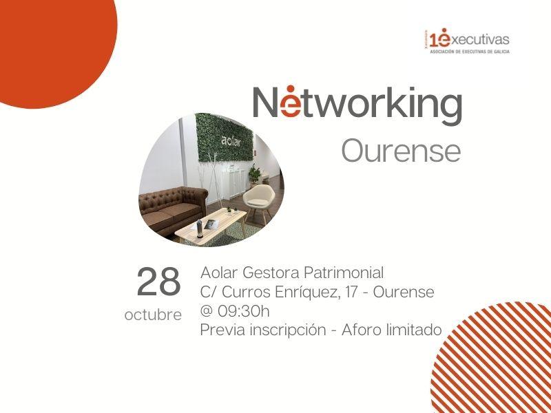 Desayuno networking Ourense, 28 de octubre