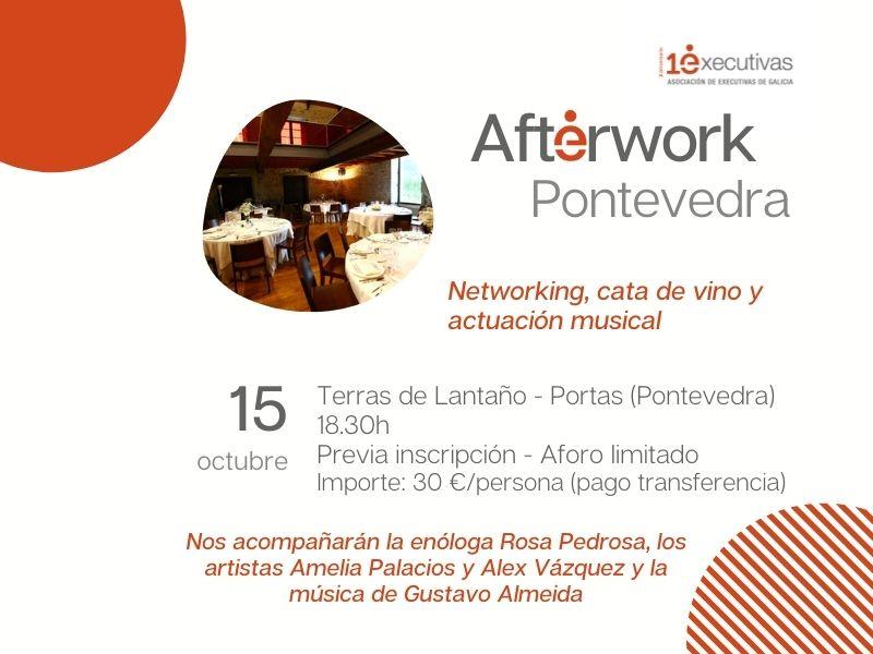 Networking y cata de vinos en Pontevedra, 15 de octubre
